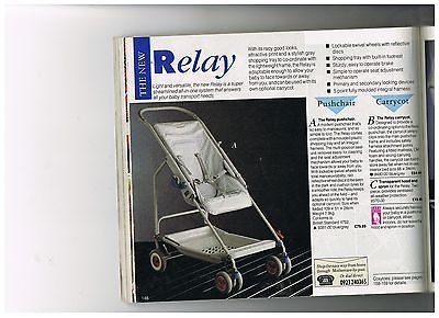 Mothercare vintage pram pushchair 420 pages on cd (1963-2000)