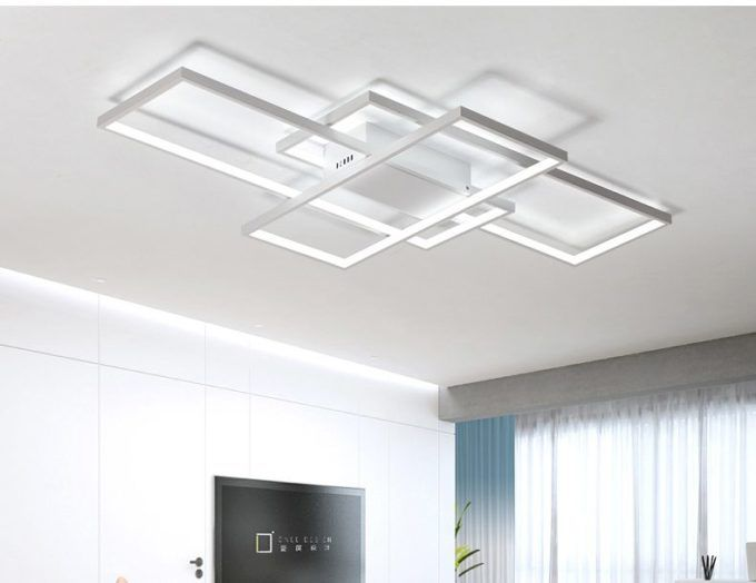 199 99 25 Dimmable White Finish Blocks Ultra Modern Light Fixture Place 33 X Almost 14 3 5 Would Need To Call This Vendor And Make