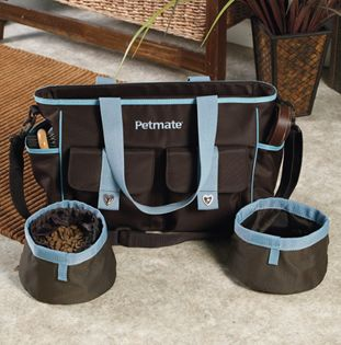 If this puppy adoption goes through, I am going to need a bag for her too. - Petmate Travel Bag