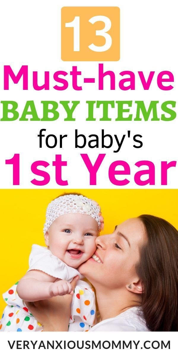 13 Essential Baby Items For Surviving The First Year Baby Item Checklist New Baby Products Baby Items