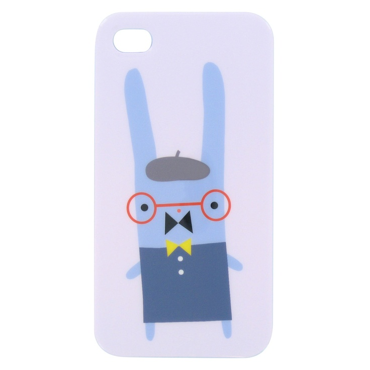 Bonjour! Bunnies iTouch case from Paperchase. A Gillian Phillips design illustration. French bunny, how cute.