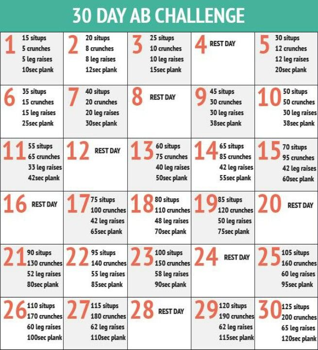 30 day ab workout: 30 Day Challenges, 30Day, Fit, Abs Challenges, Abs Workout, Ab Challenge, Menu, 30 Day Abs, Abchalleng