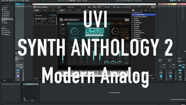 UVI Synth Anthology 2: Modern Analog