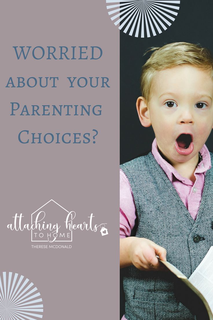 Worried About Your Parenting Choices?