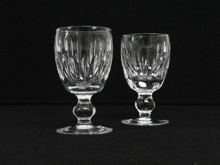 Waterford Crystal Maureen Port Wine Small Goblet Stem 2oz Cordial Glass Barware #Waterford #Crystal #Maureen #Pattern #Port #Wine #Small #Goblet #Stem #2oz #Cordial #Glasses #Shot #Barware 0217