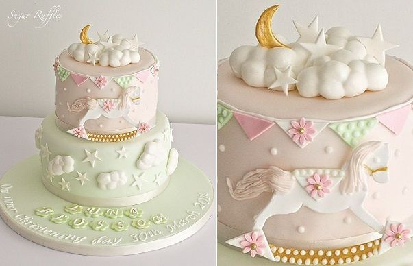 rocking horse cake by Sugar Ruffles