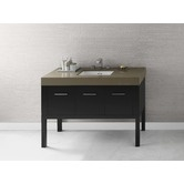"""Found it at AllModern - Calabria 48"""" Wood Vanity Set with Stone Top"""
