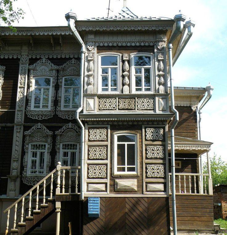 Наличники сибирские Томск -Architraves Siberian Tomsk