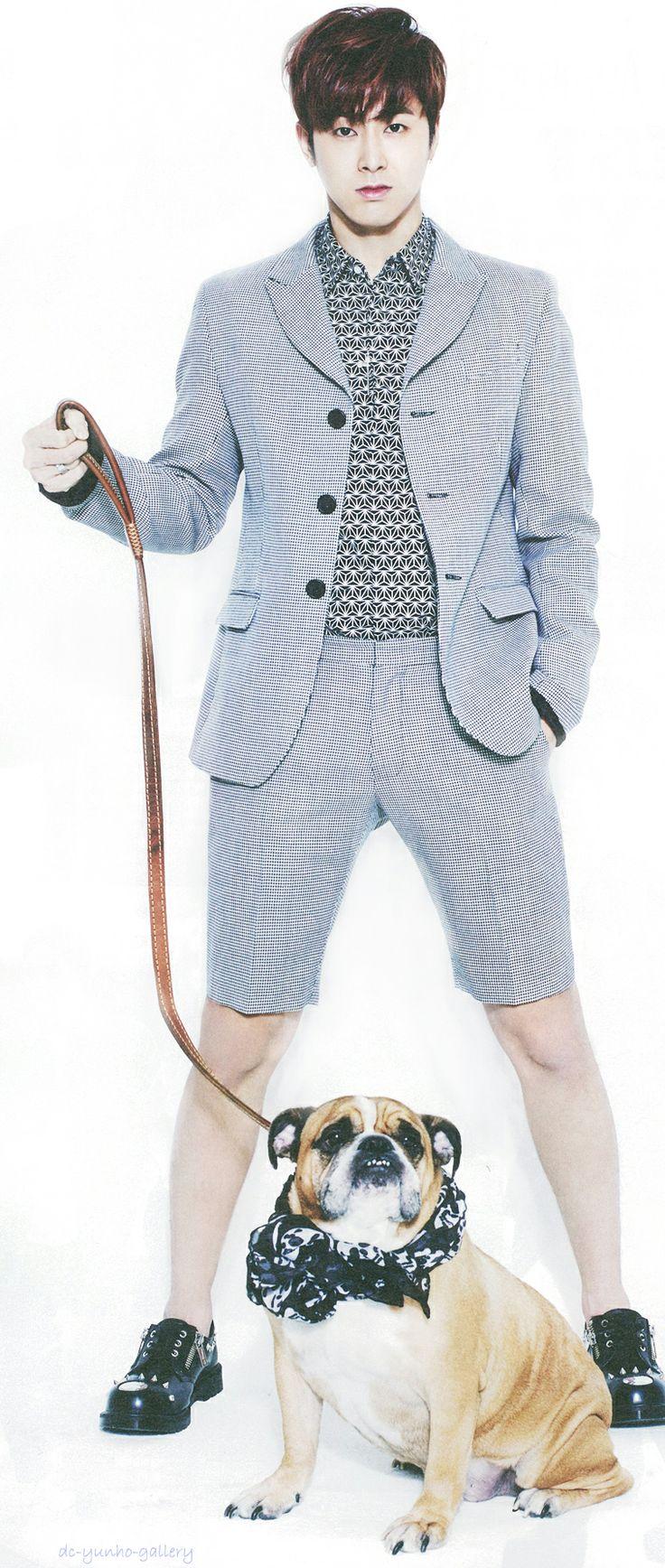 Yunho - @ Star1 Magazine March Issue '14