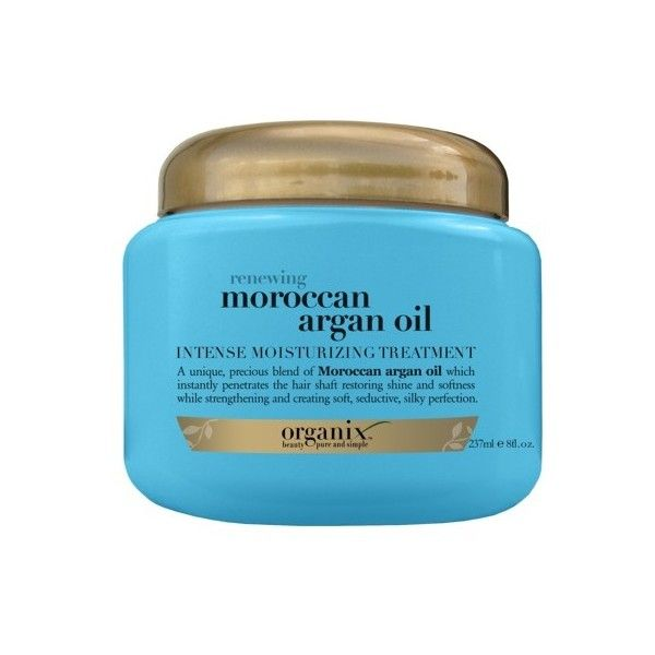 Organix Sulfate Free Moroccan Argan Oil Hair Renewing Treatment 8-oz. ($5.79) ❤ liked on Polyvore featuring beauty products, haircare, styling products, organix, organix hair care and sulfate free hair care