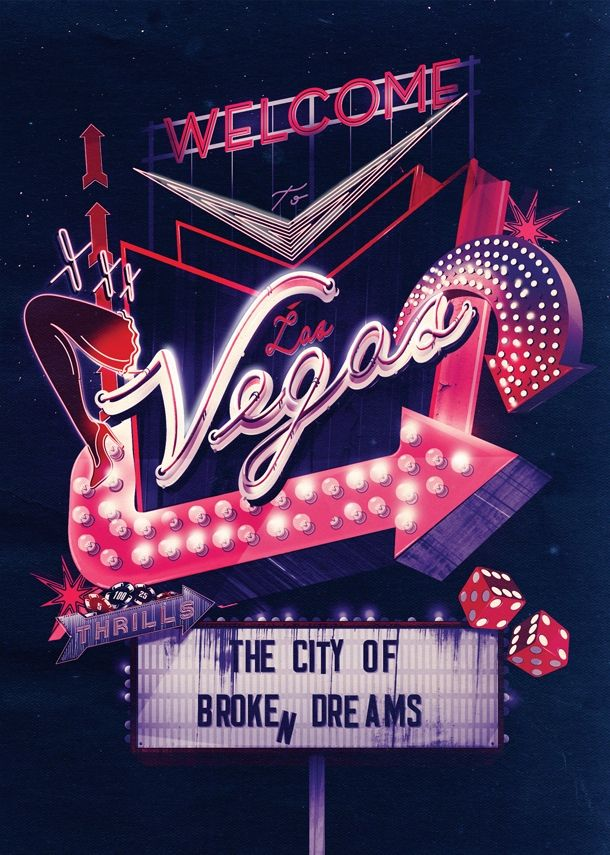 Neon Neon City Posters / I Love Dust