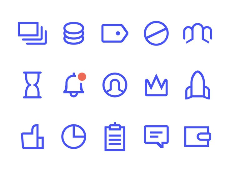 Account icons by Peter Vdovin