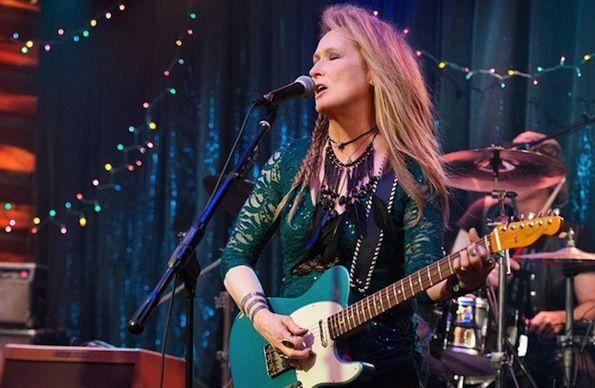 Premier cliché de Meryl Streep en rockeuse dans Ricki and the Flash de Jonathan Demme
