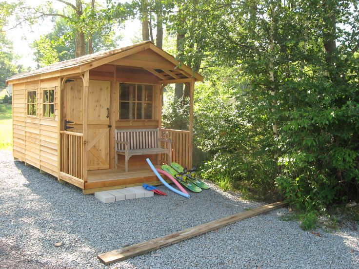 11 best images about cedar clubhouse on pinterest the for Beach cabin kits