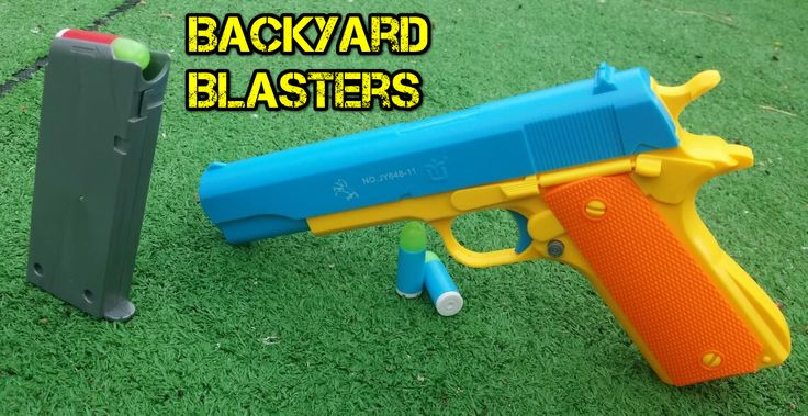 A Blaster in the Backyard.  Use code J10 to get 10% off any order before the end of June from our store today! 👏🏻  #toys #custom #cosplay #props #locknload #backyardblasters #bullets #colt1911 #batman #costume #cosplay #cosplaying #guns #gunprop