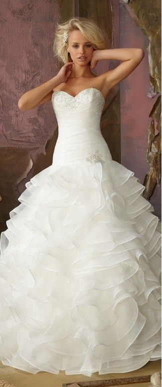 ball gown wedding dress #sweetheart absolutely gorgeous!!