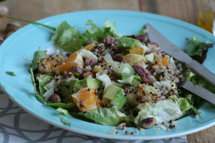 quinoa salade met venkel