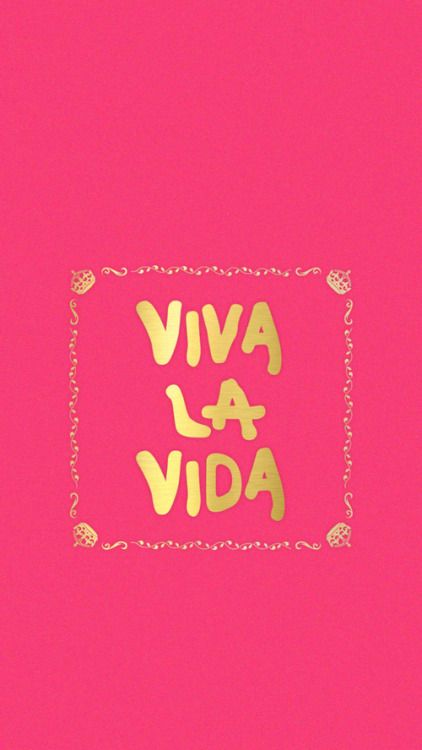 Viva La Vida ★ Find more inspirational wallpapers for your #iPhone + #Android @prettywallpaper