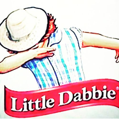 Little Dabbie Logo. The iconic logo dabbing is everything that is both wrong & right with the internet #LittleDabbie #dab #dabbitch #SuperBowl #SuperBowlFifty #SuperBowl50 #BroncosvsPanthers #C...