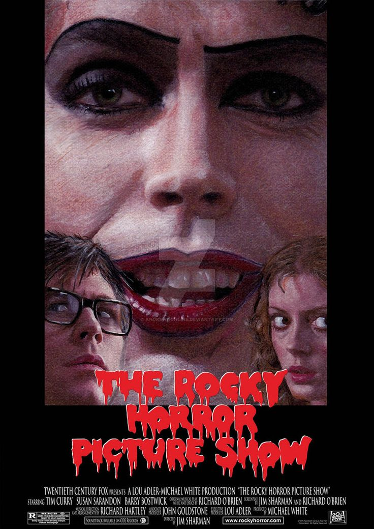 The Rocky Horror Picture show - alternate poster by andrewoonline on DeviantArt