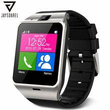 JAYSDAREL Aplus GV18 Relógio Inteligente Para iOS Android Bluetooth NFC o apoio TF Cartão SIM Relógio de Pulso À Prova D' Água PK DZ09 GT08 U8