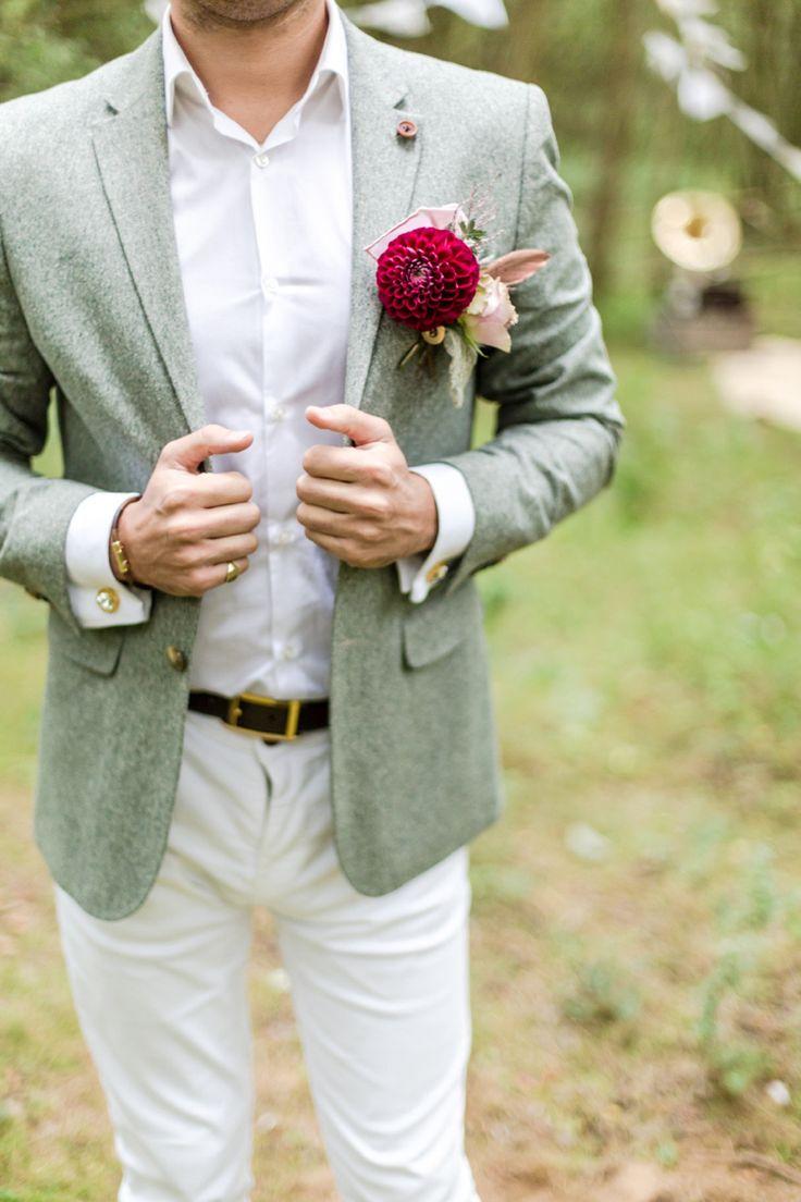 Romantic Boho Woodland Metallic Copper Wedding Ideas ㋡