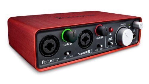 Focusrite Scarlett 2i2 http://ehomerecordingstudio.com/best-audio-interfaces/