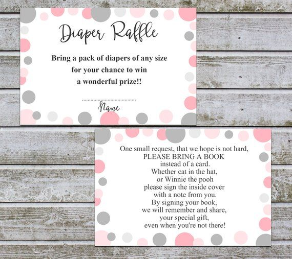 Book Request Card Diaper Raffle Printable Books For The Etsy Diaper Raffle Baby Shower Invitations For Boys Baby Shower Printables