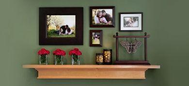 Decorate walls with photos and memories!!!!!                                                 by eleanna kapokaki.interior architect.
