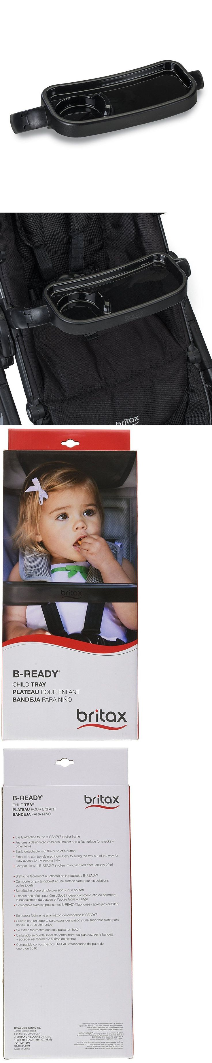 Cup Holders and Snack Trays 180913: Britax 2017 B-Ready Child Tray So3634300 2017 Usa Mytoddler Seat Saver New -> BUY IT NOW ONLY: $34.95 on eBay!