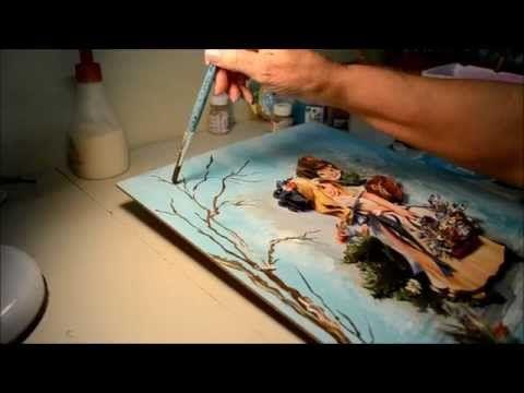 Tânia Amaral - Arte e Artesanato | Arte Francesa por Tânia Amaral - Passo a Passo