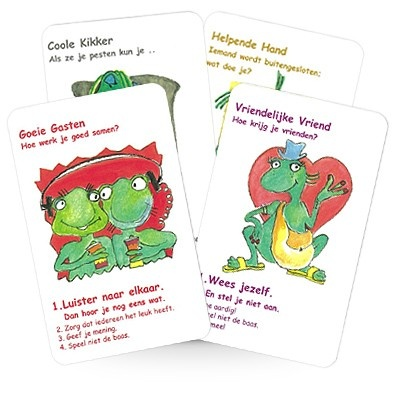 Het sociale vaardigheden kwartetspel: de Coole Kikker