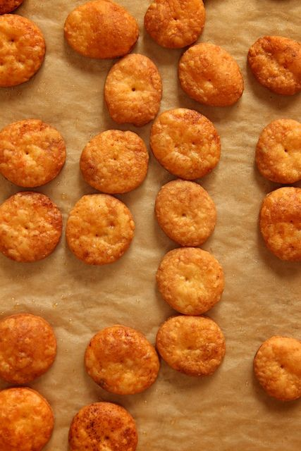 Sharp Cheddar Cheese Crackers | Fun Foods | Pinterest