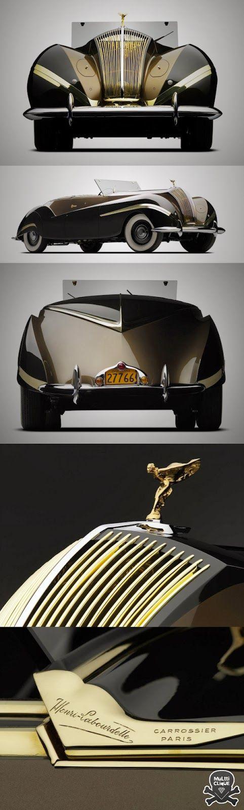 Conoce el Rolls-Royce Phantom III Cabriolet 1939. CL - i.m.o better looking than any current model.