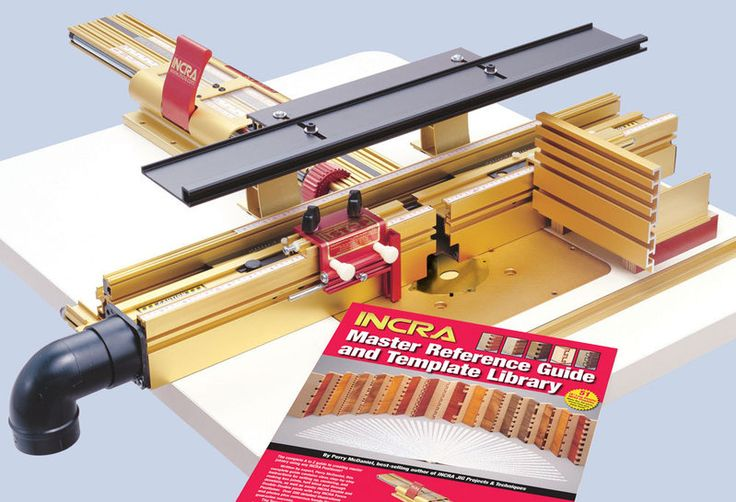INCRA - 17in (430mm) Супер позиционер система - метрическая - Дерево Рабочие семинар