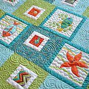 Магазин мастера Бармуша (Анастасия): пледы и одеяла, текстиль, ковры, детская, картины цветов, для новорожденных