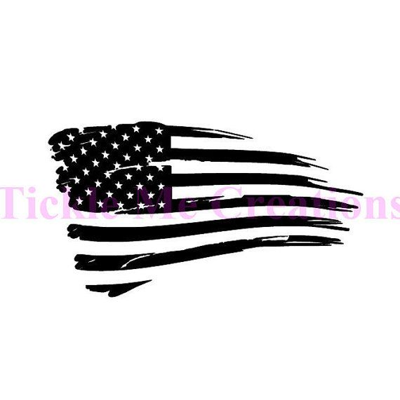 WHAT YOU ARE GETTING>>>> Want to show your National Pride, use this one of a kind American Flag decal. Show your pride with this tattered American flag decal that stays flying for years to come. Graphic is made from Orcal 651 indoor/outdoor vinyl, and can be customized if you would like something different. The Vinyl decal comes with transfer tape so that you can apply it to the smooth surface of your choice. Your computer screen settings can cause a slight variation of color in the items…