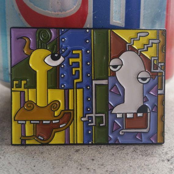 Perno de la solapa esmalte de Picasso de la vida moderna de Rocko