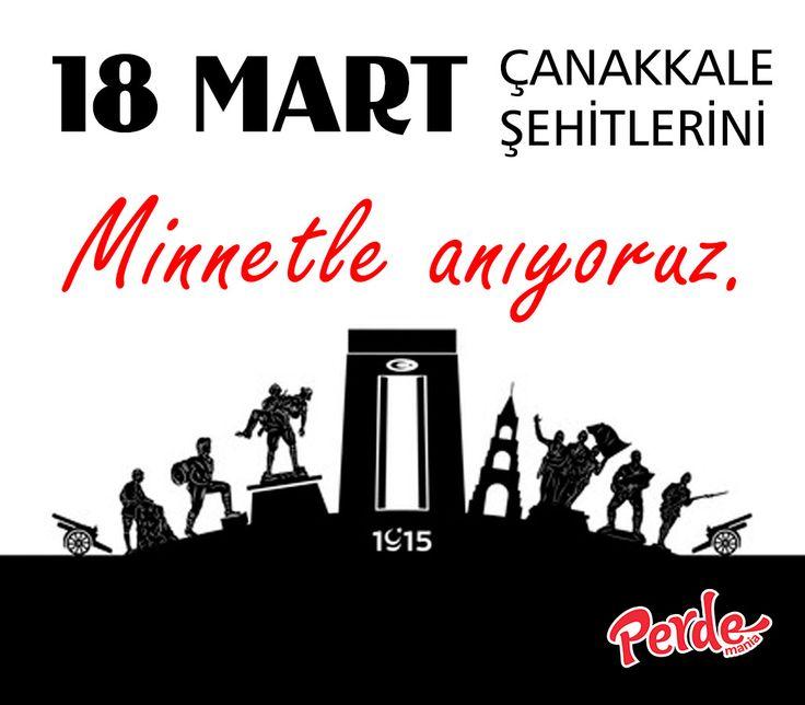 Kahraman Çanakkale şehitlerimizi minnetle anıyoruz.  #Çanakkale #ÇanakkaleyeYazıyorum #DönmeyiDüşünmediler #18Mart