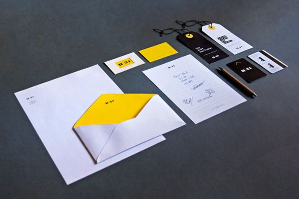 HOTEL | 21 by Nicola Di Tullio, via Behance #branding #identity #stationery #logo #design #mockup #graphic
