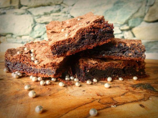 Brownies patate e cioccolato extrafondente