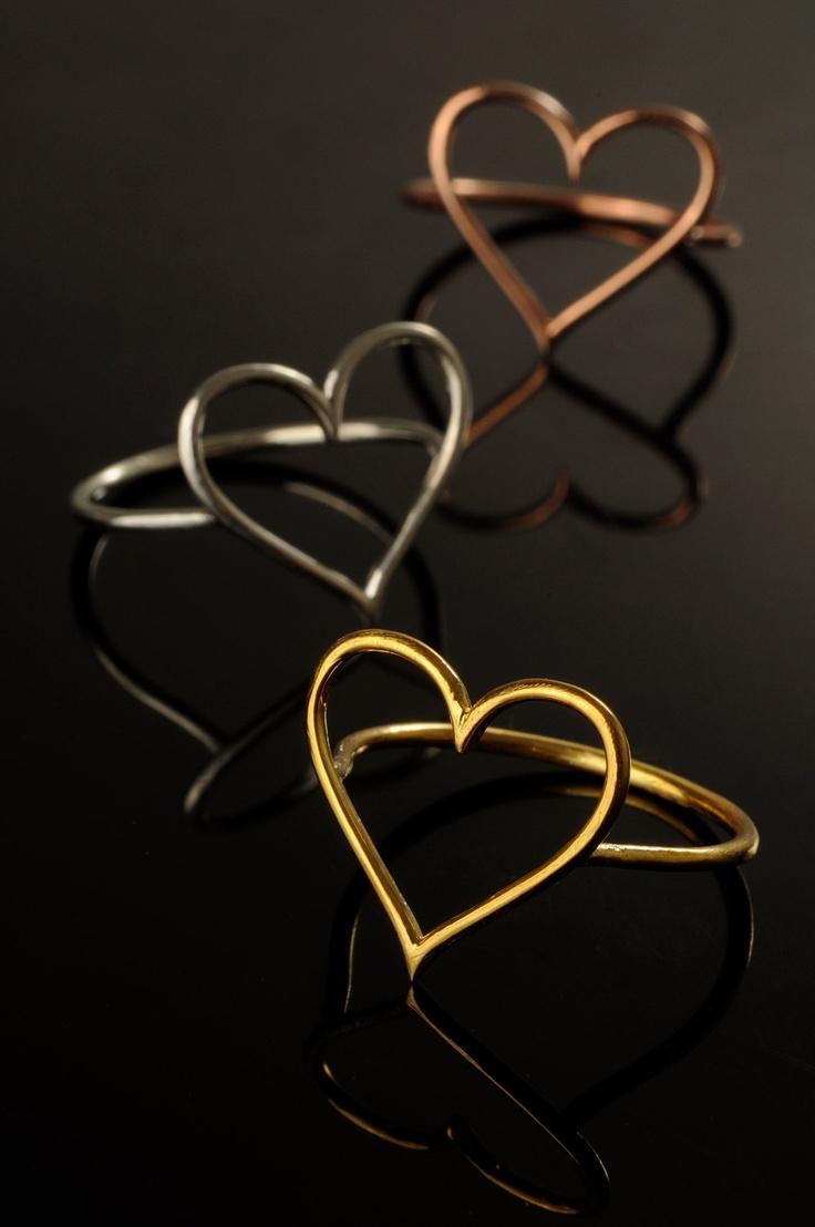 heart rings - Mirenda Jewelry