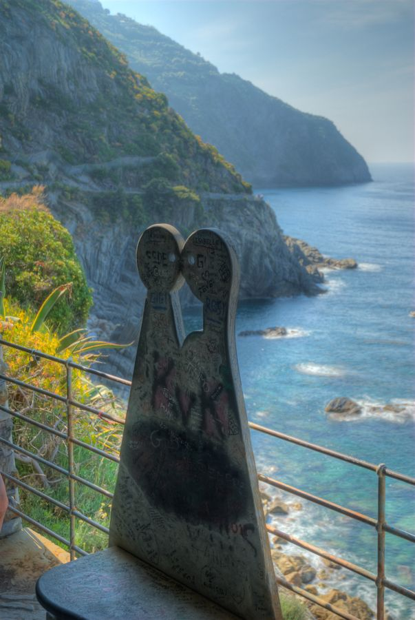 La Via dell'Amore (Lover's path) - Le Cinque Terre, Italy