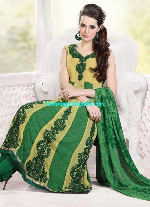 New-Designers-Anarkali-Frock-Churidar-Salwar-Kameez-Latest-Fashion-Dress-2