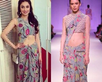 Divya Kumar Khosla in Payal Singhal #perniaspopupshop #shopnow #celebritycloset #designer #clothing #accessories