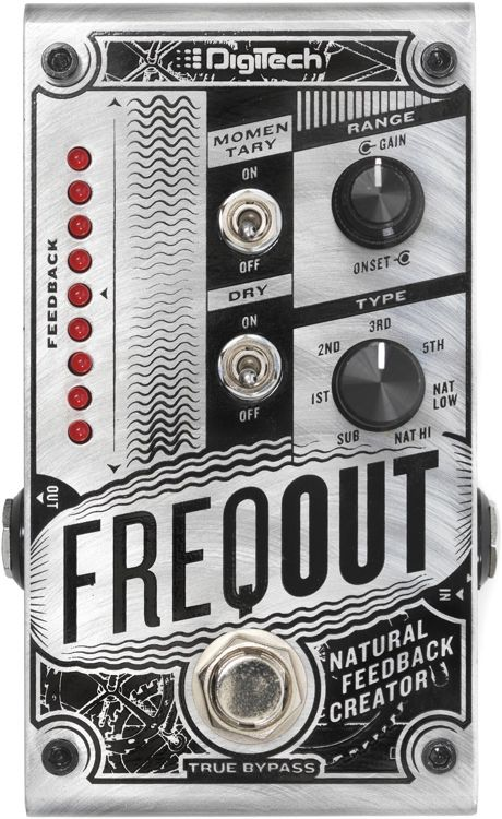 Digitech Freqout Feedback Creation Effects Pedal
