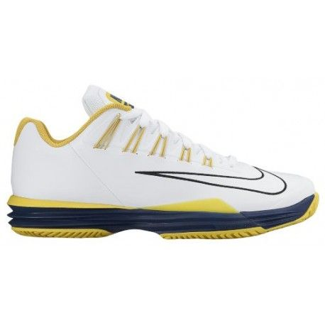 $111.59 nike lunar tennis shoes,Nike Lunar Ballistec 1.5 - Mens - Tennis - Shoes - White/Vivid Sulfur/Opti Yellow/Black-sku:05285107 cheapniceshoes4sa...