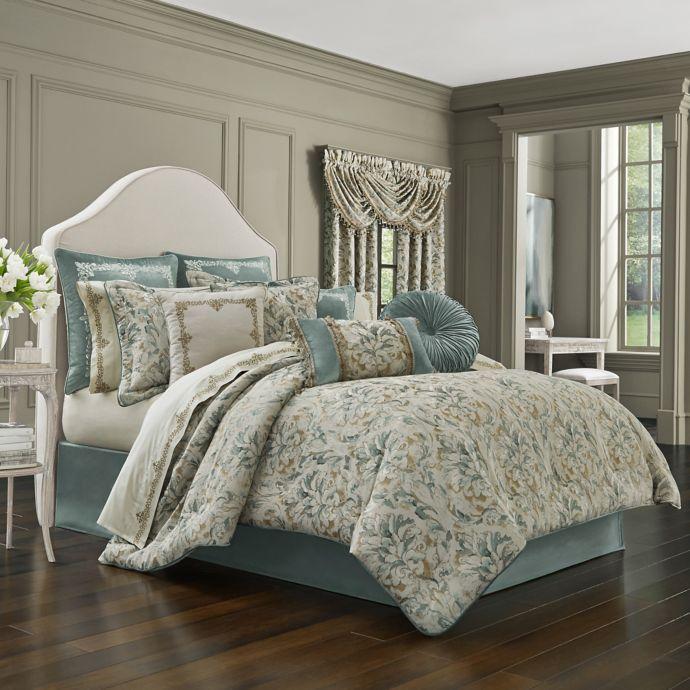 J Queen New York Donatella Comforter Set Bed Bath Beyond
