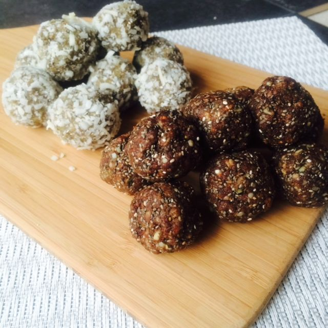 High Protein Beauty Food Bliss Balls - Fruit and Protein Powder Free