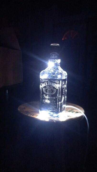 jack daniels lamp k n pinterest bottle